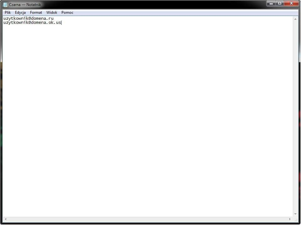 AVG_poczta_012 - plik tekstowy z danymi przy imporcie adresów