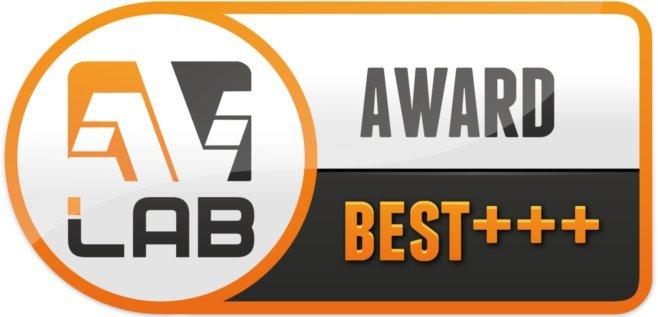 Certyfikat przyznany przez AV Lab