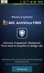 AVG Antywirus dla systemu Android