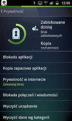 Zakładka Prywatność w Programie AVG Antywirus