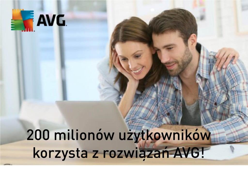 200 000 użytkowników AVG