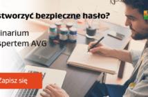 Webinarium AVG dotyczące bezpiecznych haseł.