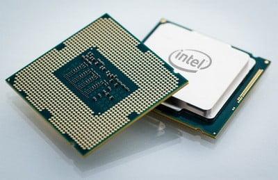 Procesor - widok z obu stron