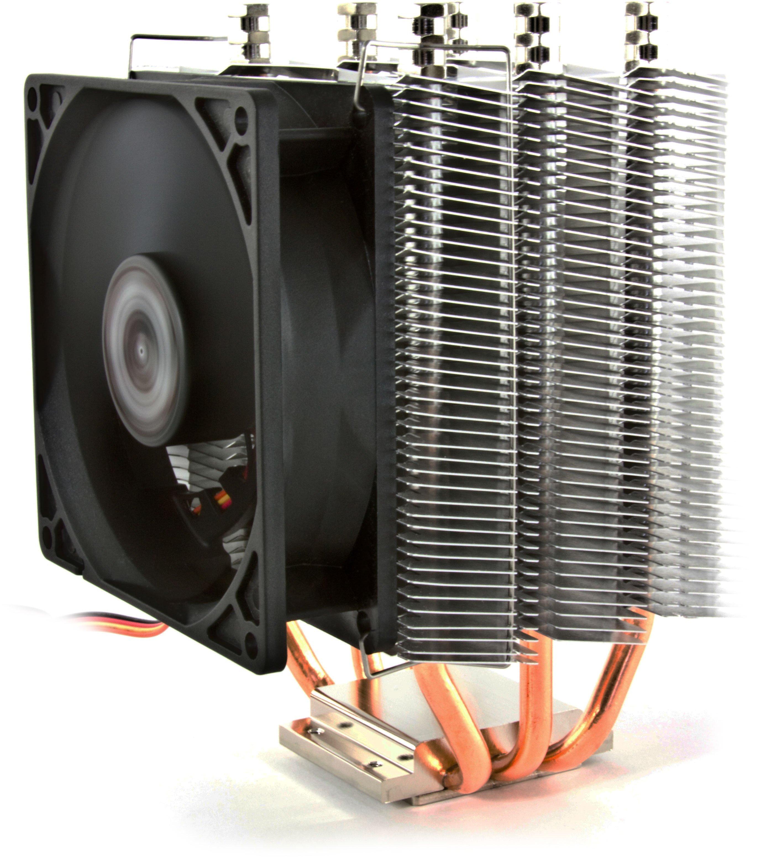 Chłodzenie pasywne i aktywne do procesora.