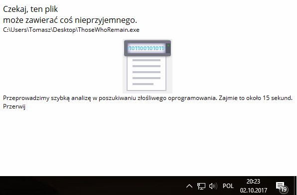 Sprawdzanie czy aplikacja nie ma złośliwego oprogramowania