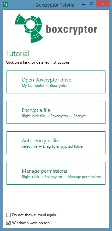 BoxCryptor aplikacja