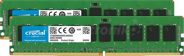Przykładowe kości pamięci RAM