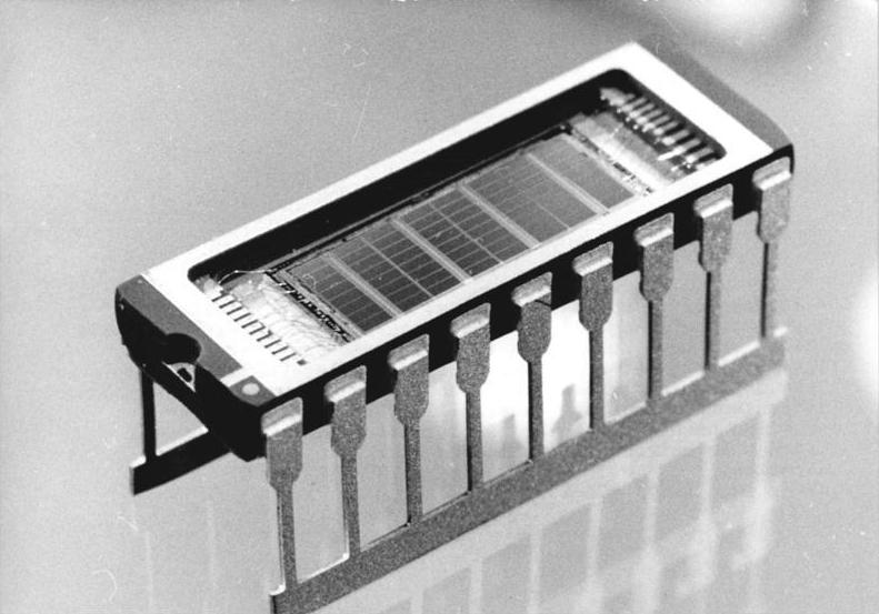 Pamięć RAM w postaci tranzystora o pojemności 1 Mb