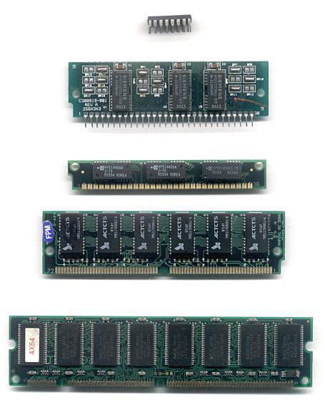 Ewolucja współczesnych pamięci RAM