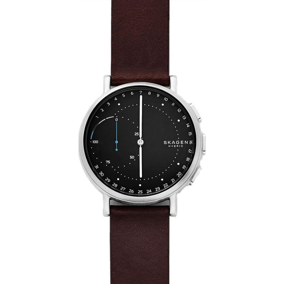 Smartwatch hybrydowy z mechanicznymi wskazówkami