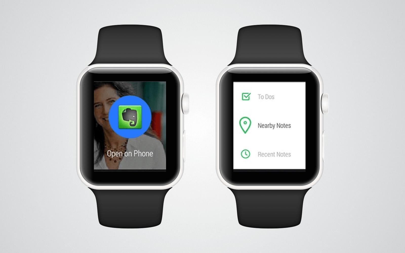 Coś dla biznesu, czyli Evernote w wersji na smartwatch z system Wear OS