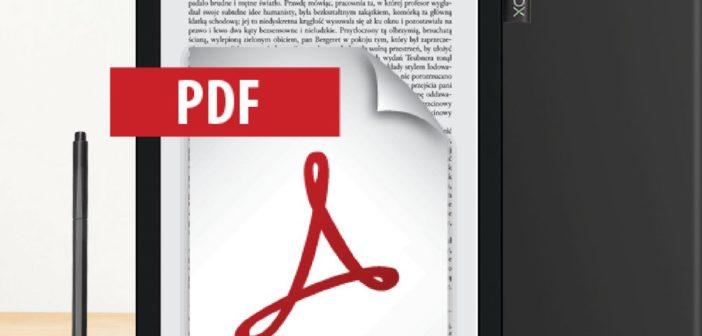 Zadbaj komfort czytania i zdrowie swoich oczu z czytnikiem pdf.