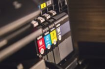 Co zrobić w przypadku zaschniętego tuszu w drukarce?