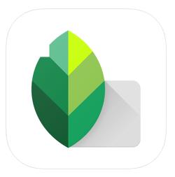 Aplikacja do edycji zdjęć Snapseed.