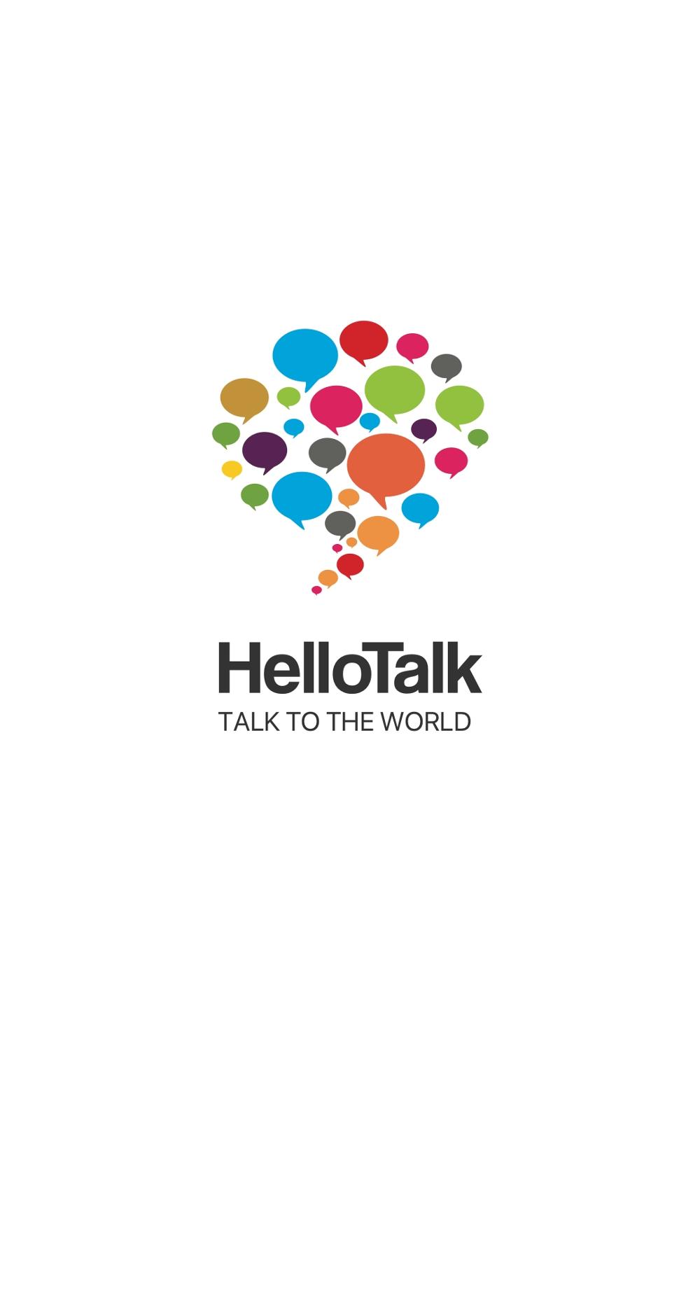 Aplikacja HelloTalk do nauki języków obcych.