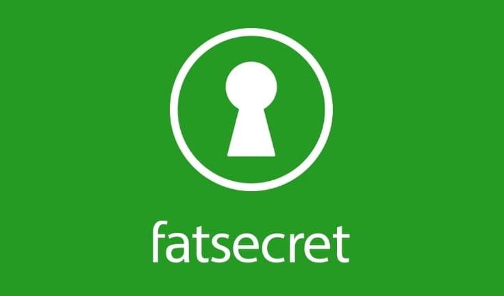 Aplikacja dietetyczna fatsecret.