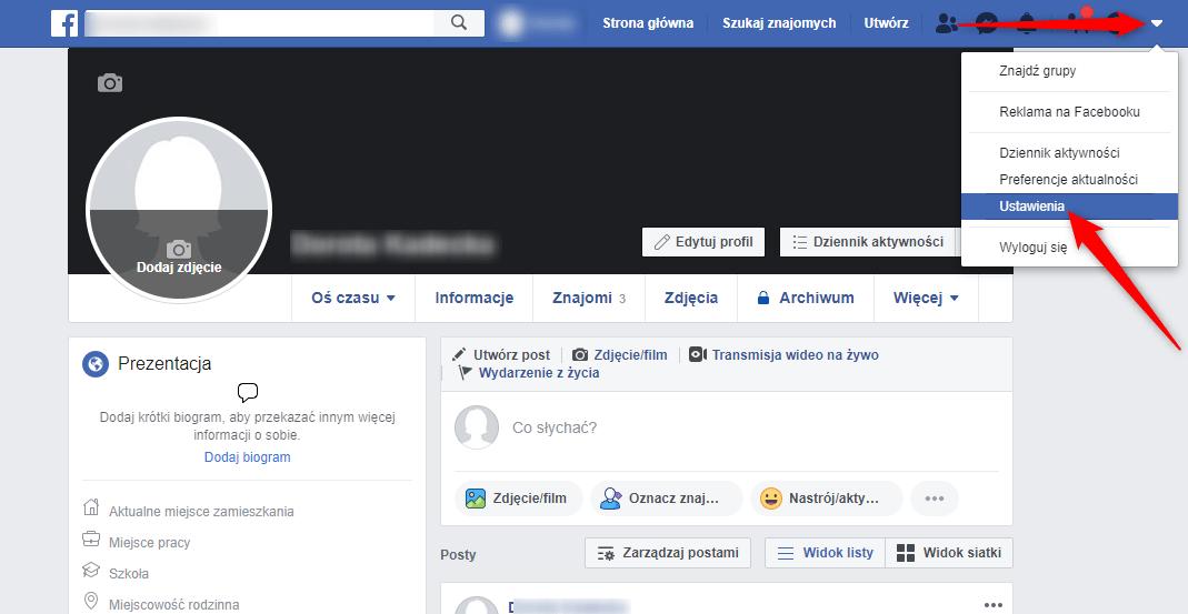Jak wylogować się zdalnie z Facebooka.
