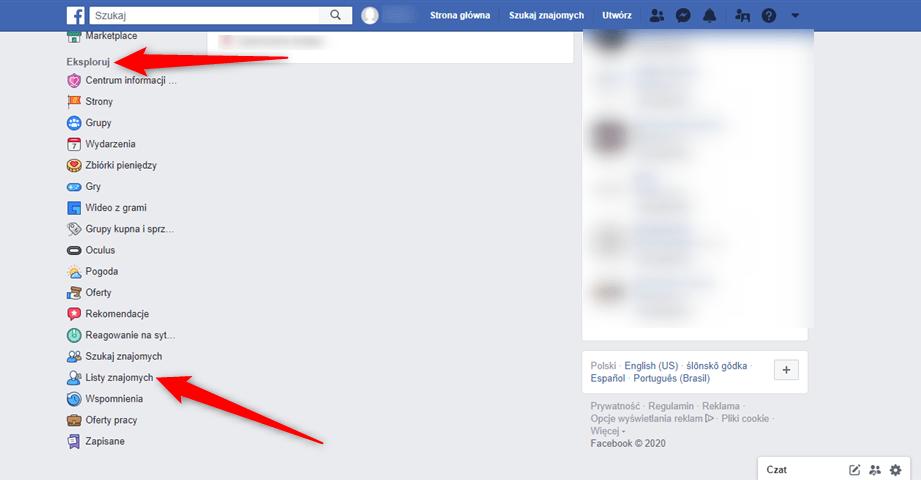 Jak tworzyć listy znajomych na Facebooku?