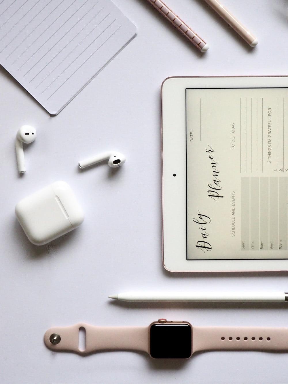 Akcesoria do urządzeń Apple.