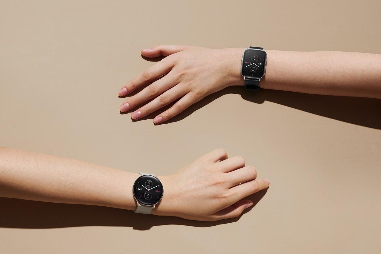 Zegarki smartwatch amazfit.