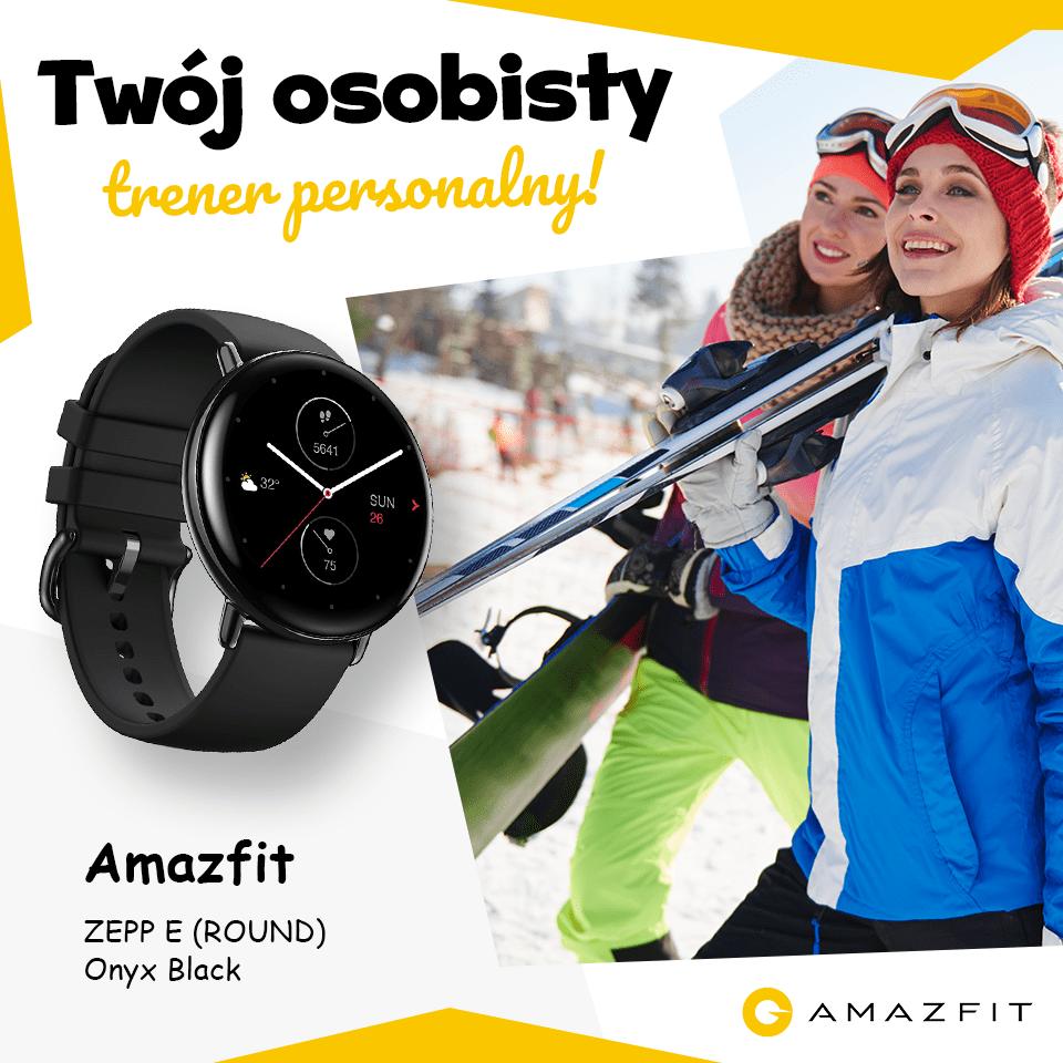Zegarek sportowy smartwatch Amazfit ZEPP E (ROUND)