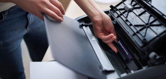 Jak wydrukować na drugiej strony karki papieru?